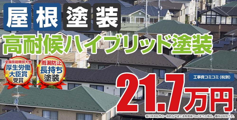 高耐候ハイブリッド塗装塗装 21.7万円