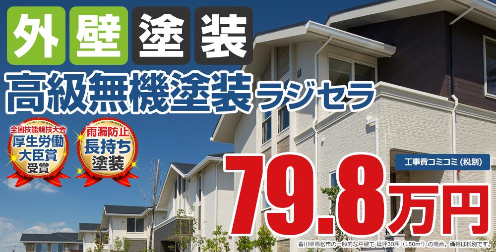 高級無機塗装塗装 79.8万円