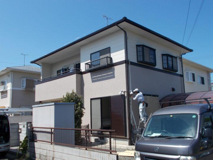 高松市 E様邸 屋根遮熱塗装・外壁塗装・コーキング工事等