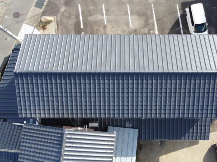 高松市 S様邸 手塗りで屋根塗装